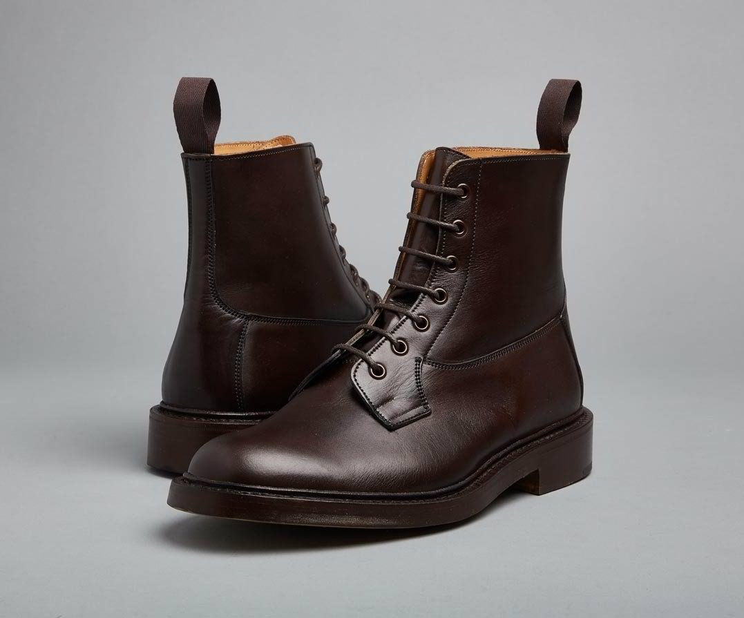 4f356ba48e8 Trickers BURFORD Espresso Burnished