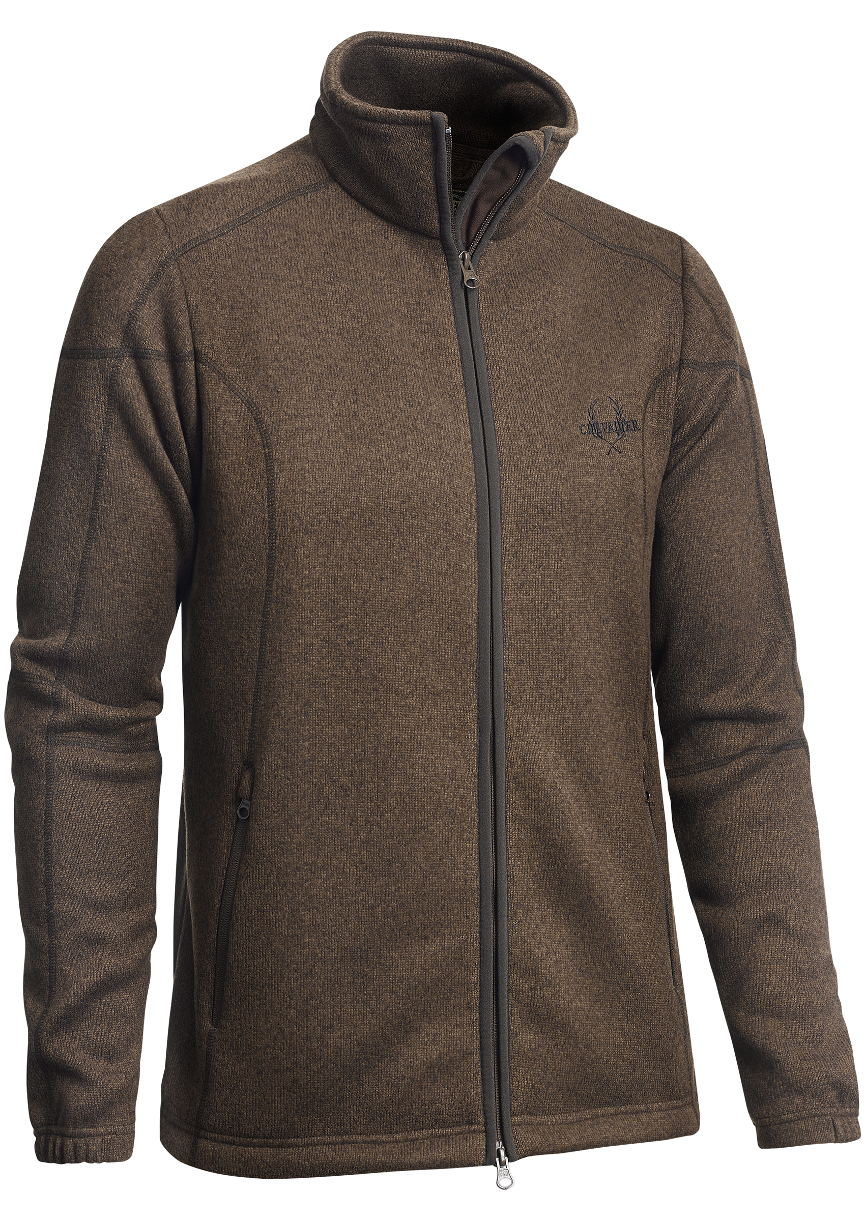 Stag Country Sports » Chvalier Chester Cardigan Dark Brown
