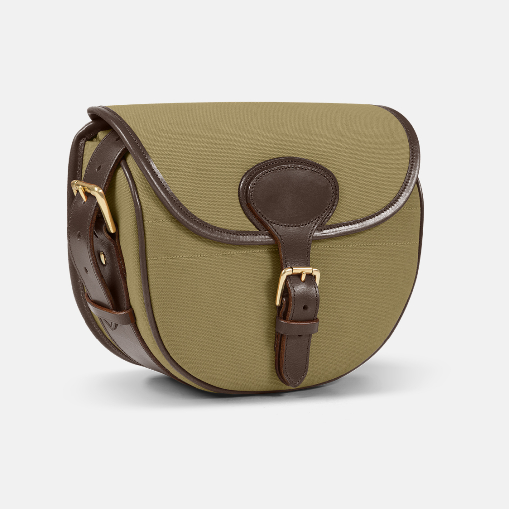 Stag Country Sports » Albion CARTRIDGE BAG Forest Green Canvas
